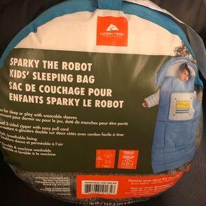 NEW Kids Ozark Trail Robot Sleeping Bag Camping